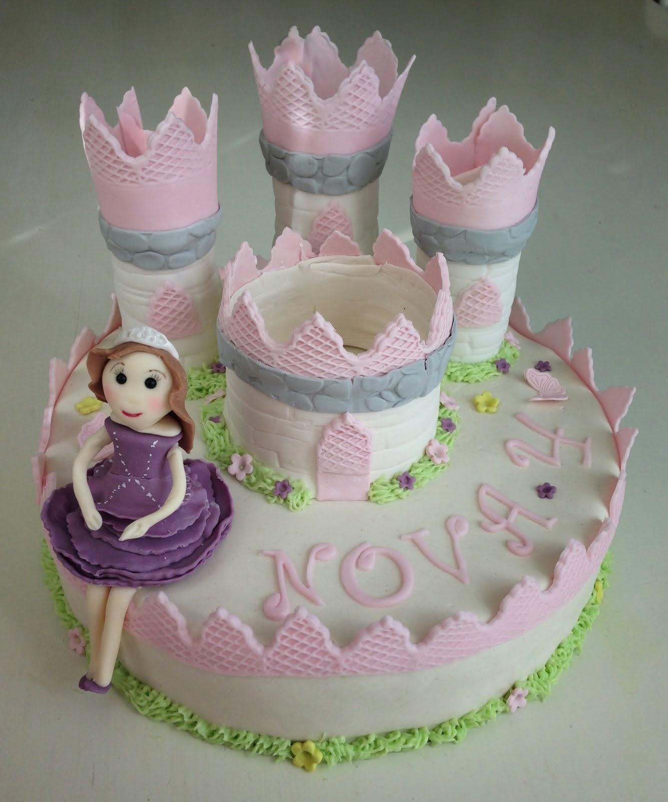 Slottstårta med prinsessan Sofia