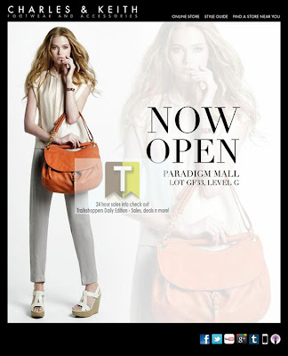 Charles & Keith's Paradigm Mall Now Open