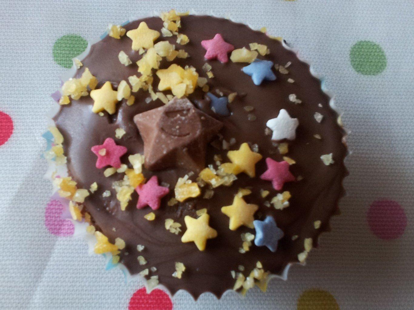 , cake, icing, popping candy, stars, decorate, bake, baking, cakes ...