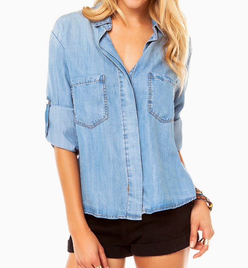 http://www.stylemoi.nu/roll-sleeve-denim-shirt-with-dovetail-hem.html