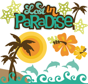 Lost in Paradise cut file set by Miss Kate Cuttables