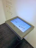 elektronisches Gästebuch, Touchscreen, Bildschirm