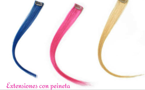 extensiones pelo color