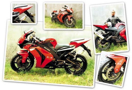 Honda Mega Pro 2007 (Tasikmalaya) Replika CBR 1000 cc title=
