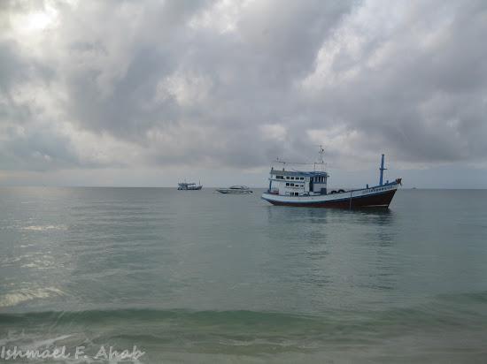 Sea of Koh Samet Island