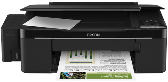 Cara Reset Printer Epson L200
