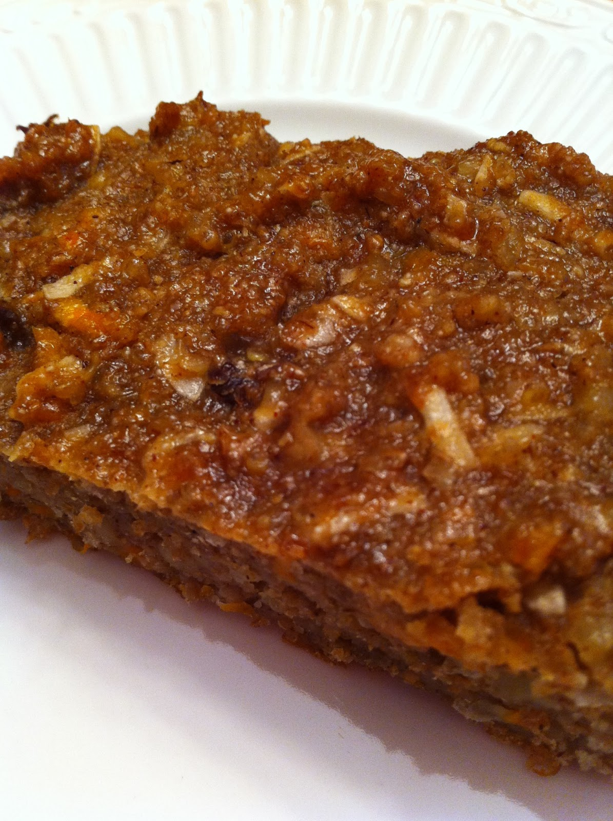 Frosted Carrot Quinoa Bars Recipe — Dishmaps