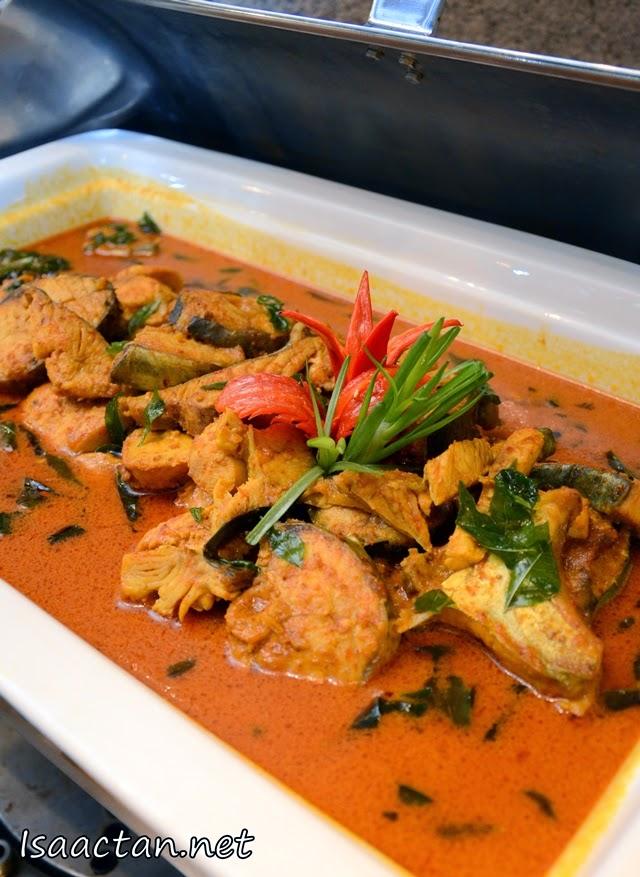 Gulai Ikan dengan Kerisik - from Terengganu