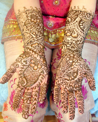Eid Pakistani Mehndi Designs photos