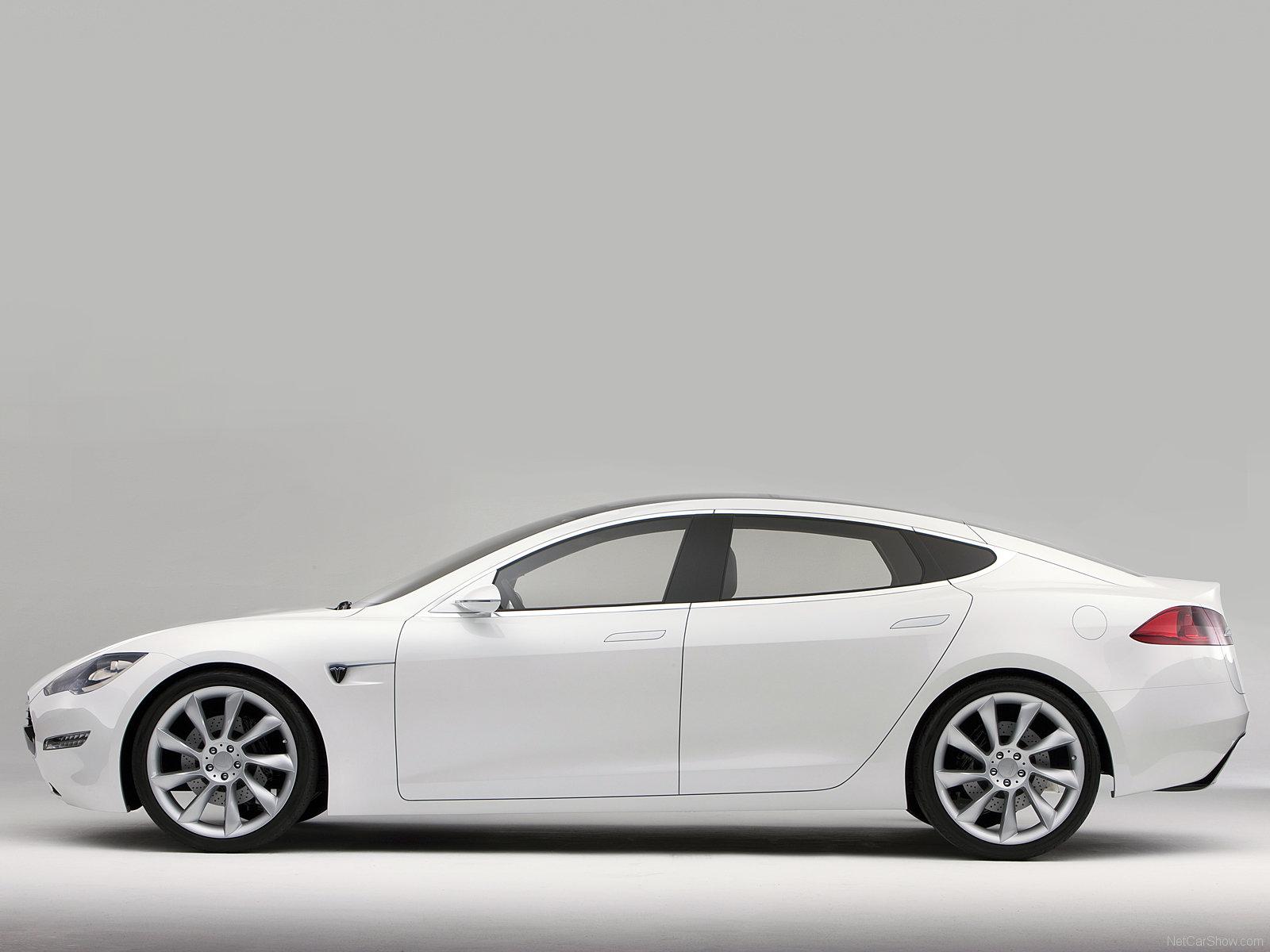 Hình ảnh xe điện Tesla Model S Concept 2009 & nội ngoại thất