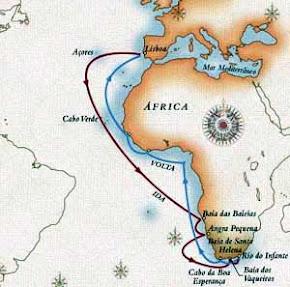 Ligação Marítima entre o Oceano Atlântico e o Índico