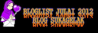 Segmen : Bloglist Julai Blog SukaGelak