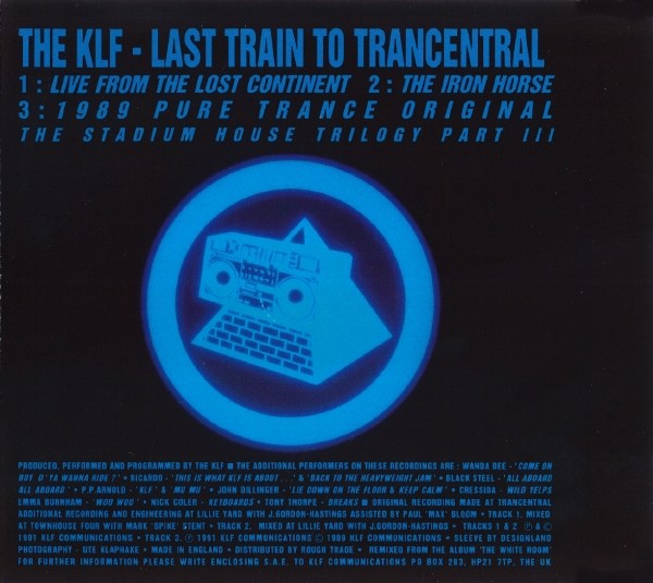 Vinyl Video Klf Last Train To Trancentral 1991