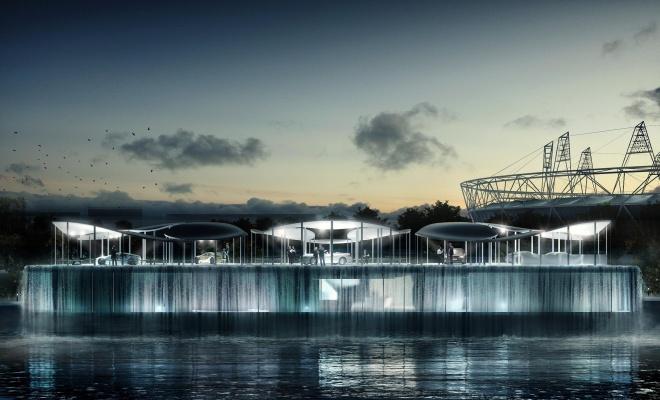 BMW Olympic Pavilion artist's impression