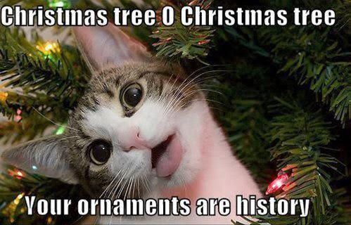 Christmas Tree O Christmas Tree - Your Ornaments Are History