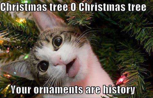 Christmas Tree O Christmas Tree - Your Ornaments Are History