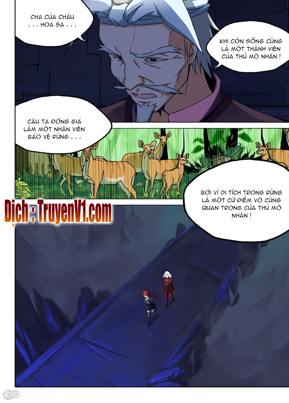 Ngân Chi Thủ Mộ Nhân Chapter 142 - Lhmanga.net