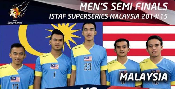 Final Takraw Siri Super Istaf Malaysia 2015