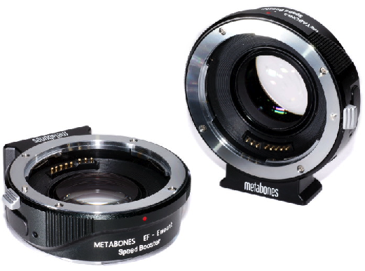metabones speed booster sony nex lens adapter