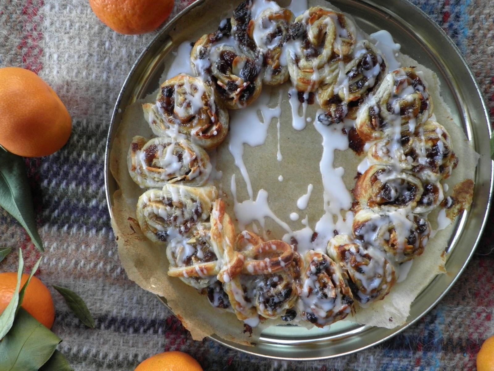 Mince Pie Wreath Recipe