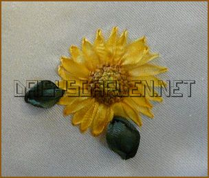 All about of article sunflowers in silk ribbon embroidery free had a wonderful tutorial on her silk ribbon embroidery blog showing you how to make sunflowers in silk ribbon embroidery enjoy making your flowers mightylinksfo