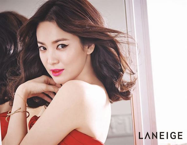 Song Hye Kyo Laneige Two Tone Moment, Gradient Lips, Ombre Lips