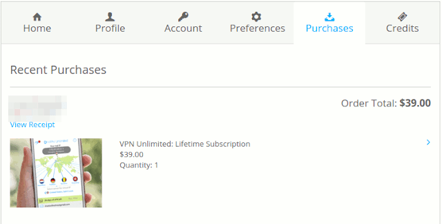 Lifetime Membership of VPN Unlimited Discount