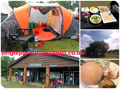 holmsley campsite new forest