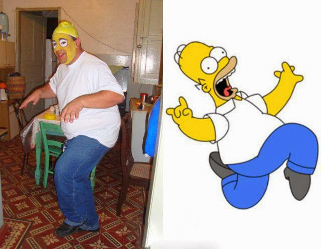 Cosplay Fails - Homer