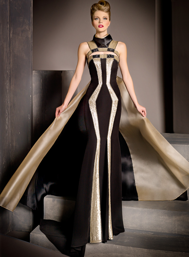 Partydq blanka matragi 2012 fancy dresses collection for How to become a haute couture designer