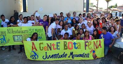 Carreata mobiliza jovens em prévia da JMJ em Teresina