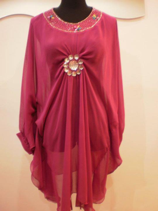 Sweet Roses Online Boutique: BLOUSE KAFTAN SIMPLE MANIK (BM90)