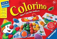 Jeu ludo-éducatif 2 à 3 ans - Colorino