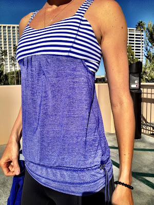 lululemon back on track running tank