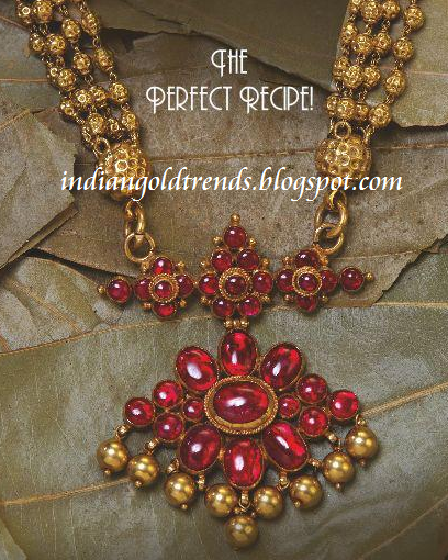 Antique ruby necklace photo