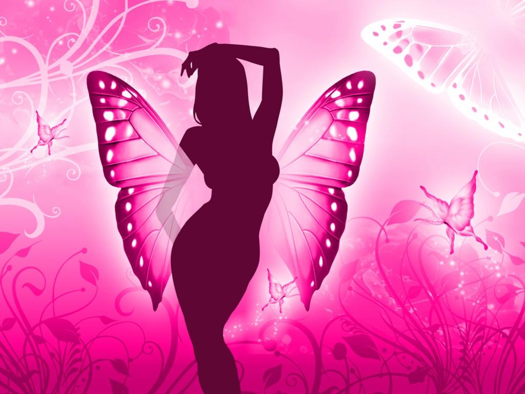 little girl butterfly wallpapers - photo #25