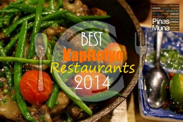 Best Kapitolyo Restaurants of 2014