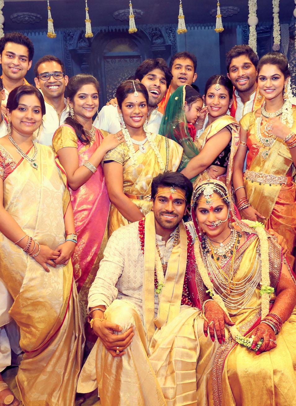Cinema Maveeran Film Hero Ram Charan Upasana Wedding