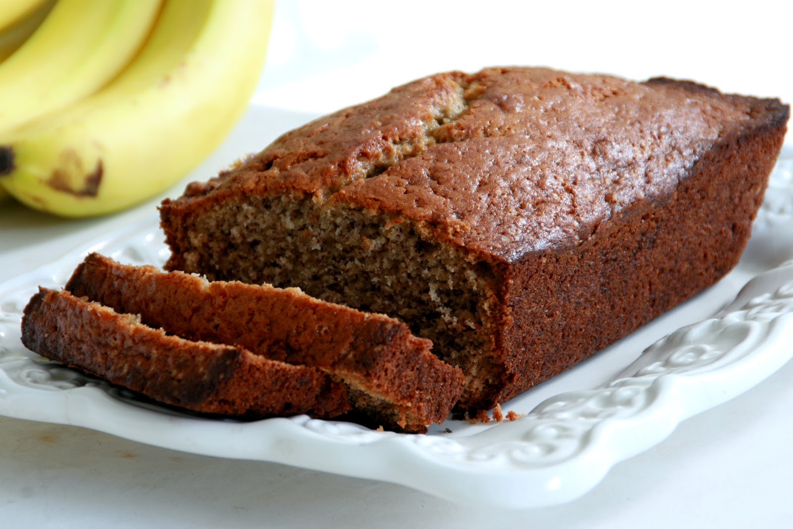 The smell of freshly-baked banana bread floating through your house is ...