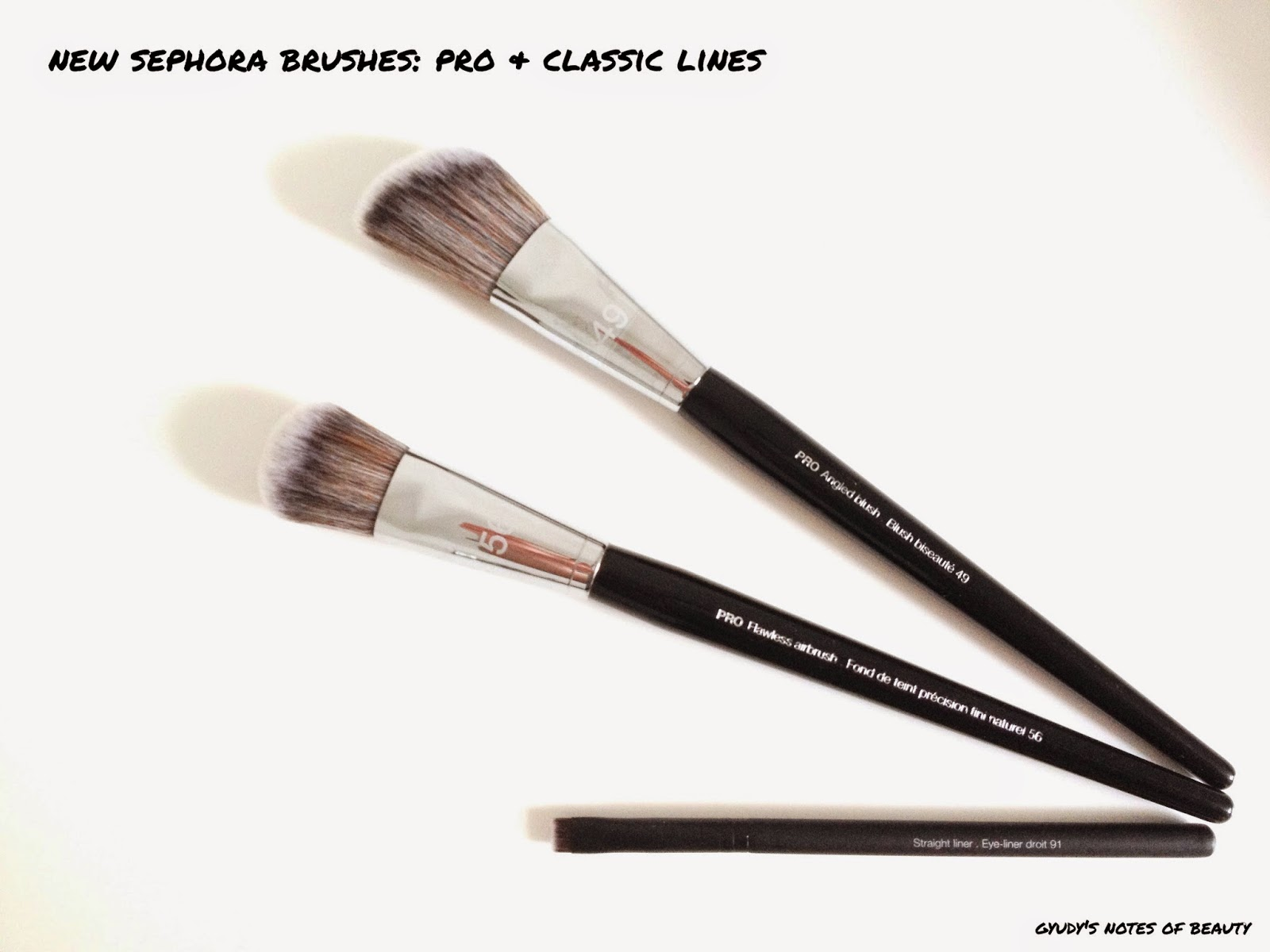 Sephora Brushes #49 #56 #91