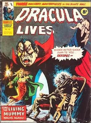 Marvel UK, Dracula Lives #49