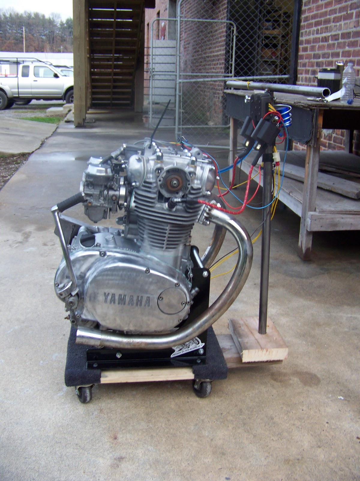 Hugh U0026 39 S Handbuilt  Another Rephased Xs650 Engine