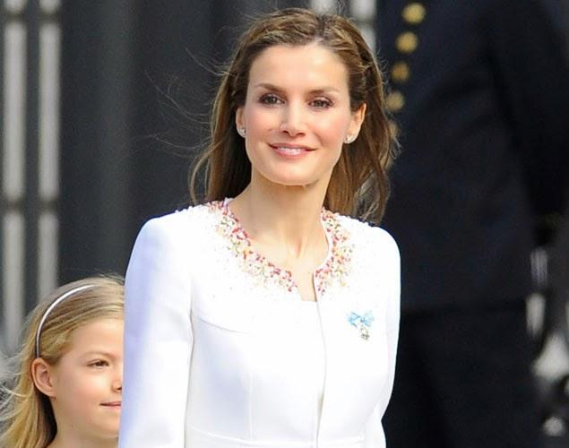 Peinado de la Reina Letizia