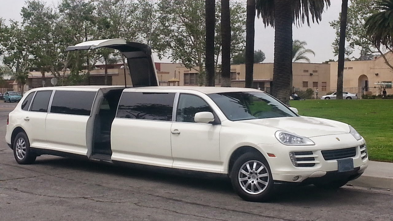pin porsche cayenne limousine limo white on pinterest. Black Bedroom Furniture Sets. Home Design Ideas