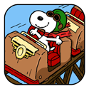 Snoopy Coaster App iTunes App Icon Logo By Chillingo Ltd - FreeApps.ws