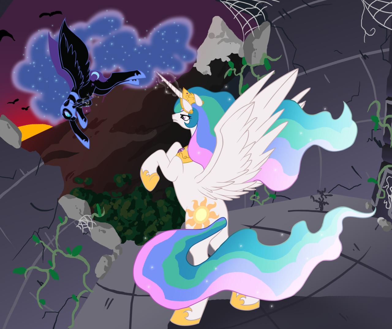princess celestia vs nightmare - photo #30