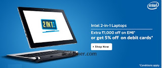 2 In 1 Laptops Extra 5% off