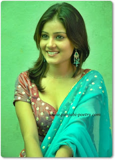 Punjabi Cute and Simple Girl With Cleavage