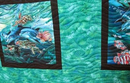 Cathy Tomm Quilts: Sea Life Quilt : sea life quilt - Adamdwight.com