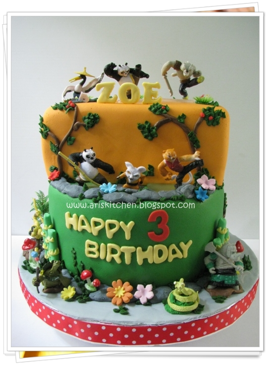 Dangel Cakes Kungfu Panda Cake